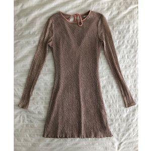 UO Long Sleeve Mini Dress